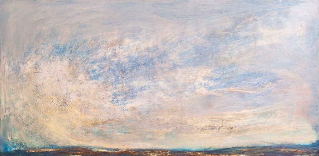 Falling in Love with January 122 x 56cm £1100 sold Brompton Hospital Trust. LR
