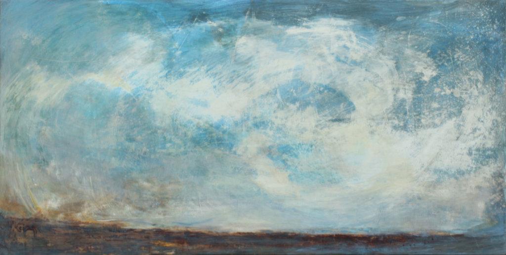 Twilight Drive, 154 x 77, £1500